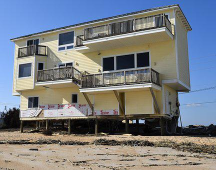 Beach Erosion, Hurricane Matthew, Damage, Landscape