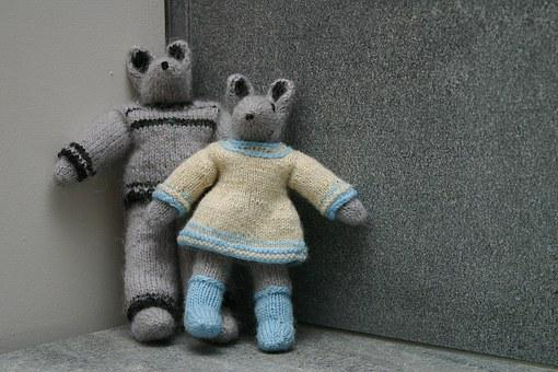 Mouse, Knitting Pattern, Grandma, The Mother Of, Craft
