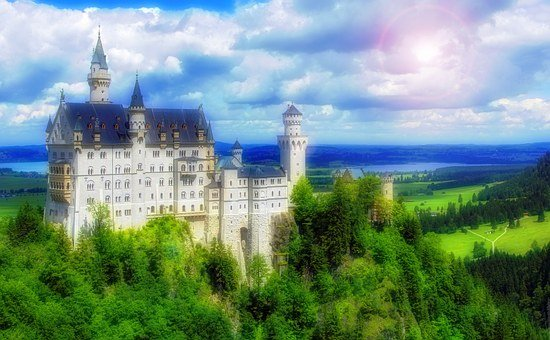 Castle, Fairy Tale, Kingdom, Princess, Medieval, Royal