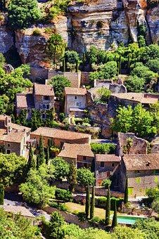 Provence, Sault, France, Village, Nature