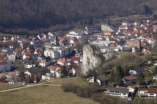 Blaubeuren, Village, Swabian Alb, Settlement, Homes