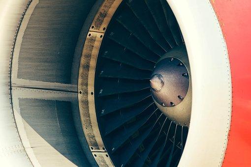 Aircraft Engine, Aviation, Close-up, Propeller