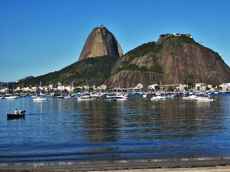 Rio De Janeiro, Sugarloaf, Brazil, Blue, Holiday, Samba