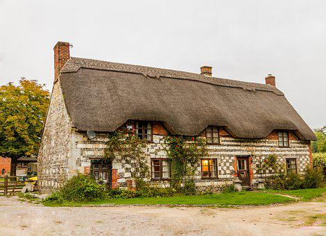 Architecture, Building, Bungalow, Country, Countryside