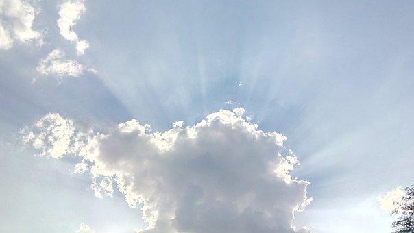Sun, Sun Rays, Cloud, Summer, Bright, Sunny, Sky