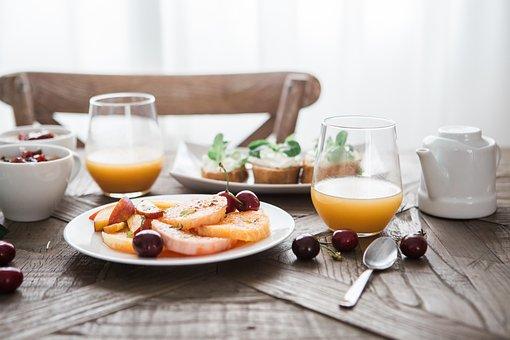Breakfast, Delicious, Drink, Food, Fruit, Glass