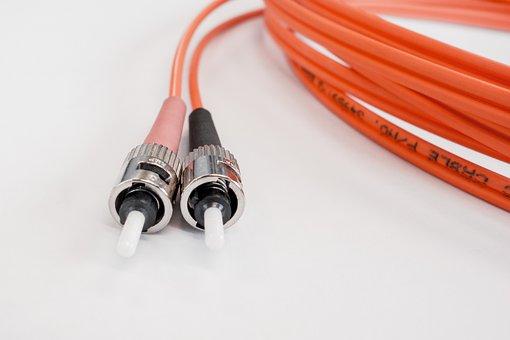 Fiber Optic Cable, Glass Fiber, It, Technology