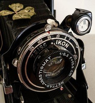 Lens, Zeiss Ikon, Photo Camera, Historically