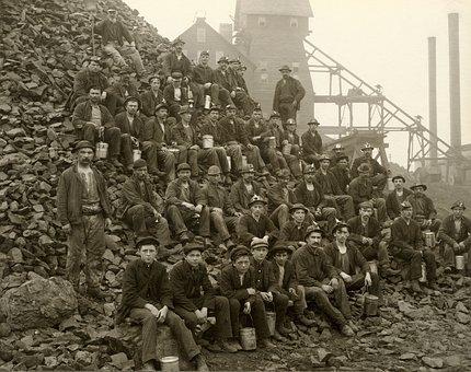 Miners, Workers, Bergmann, Squires, Mine, Tamarack Mine