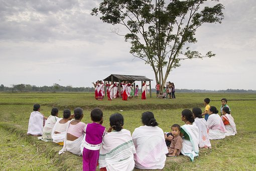 Bihu, Dance, India, Assam, Travel, Culture, Vacation