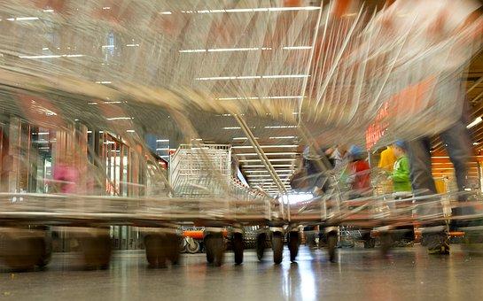 Purchasing, Shopping Cart, Supermarket, Shopping