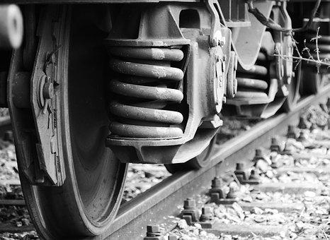 Wheels, Train, Railway, Rail Traffic, Metal, Seemed