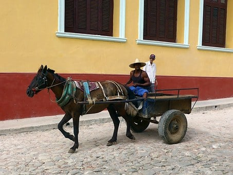 Cuba, Trinidad, City, Architecture, Color, Colorful