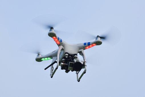 Camera, Drone, Fly, Flying, Sky, Technology