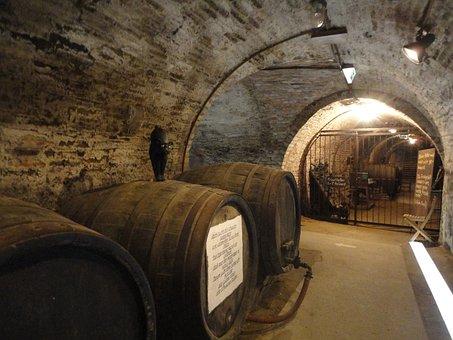 Cellar, Barrel, Wine Barrel, Wooden Barrels, Barrels