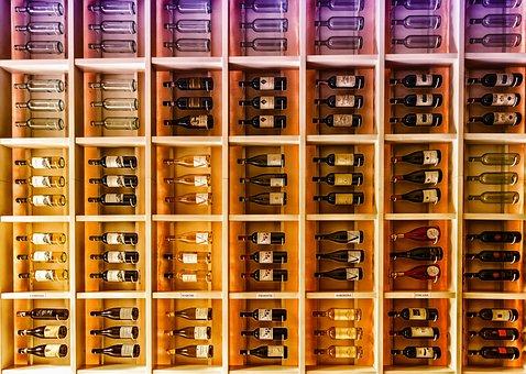 Wine, Bottle, Shelf, White Wine, Wine Storage