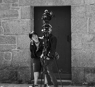 Photographers, Camera, Device, Digital, Black, Picture