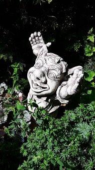 Garden Gnome, Dwarf, Gnome, Are, Funny, Imp, Creature