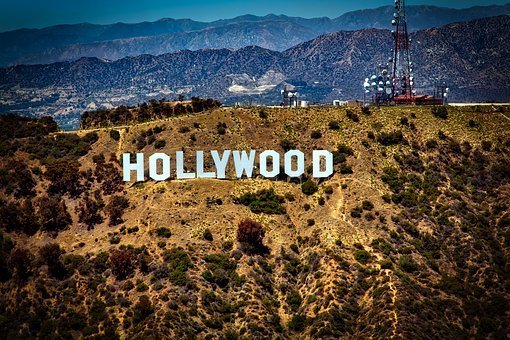 Hollywood Sign, Iconic, Mountains, Los Angeles