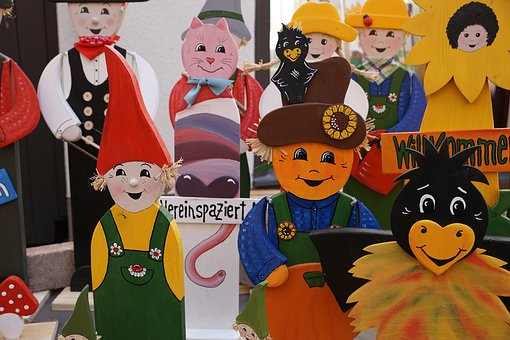 Fig, Colorful, Tinker, Market, Toys, Handmade, Woods