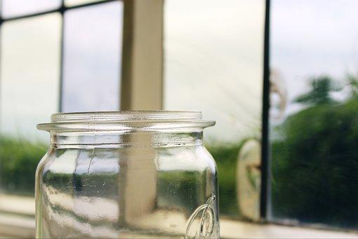 Window, Glass, Vessel, Deco, Decoration, Storage