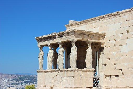 Greece, Acropolis, Parthenon, Athens, Greek, Ancient