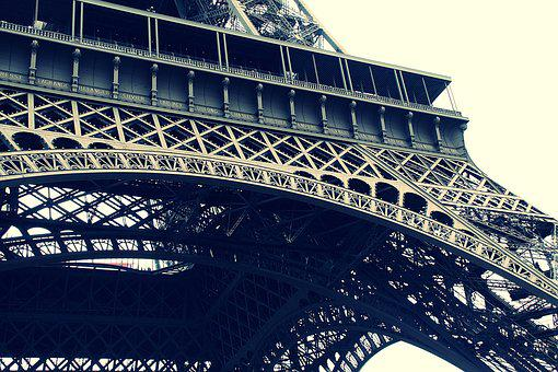 Architecture, Eiffel Tower, France, Landmark, Paris