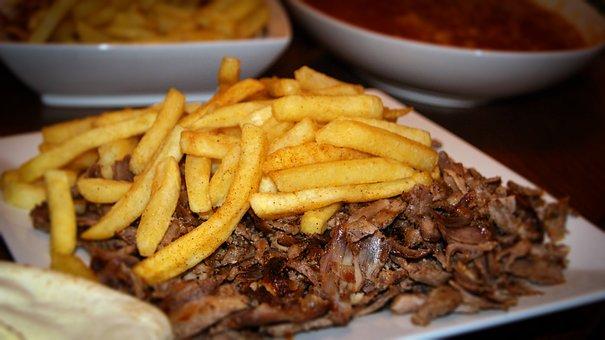 Amman, Baghdad, Dinner, Fast Food, Food, Fries, Iraq