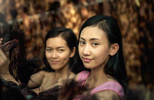 Young, Face, Teens, Adult, Asia, Autumn, Bangkok