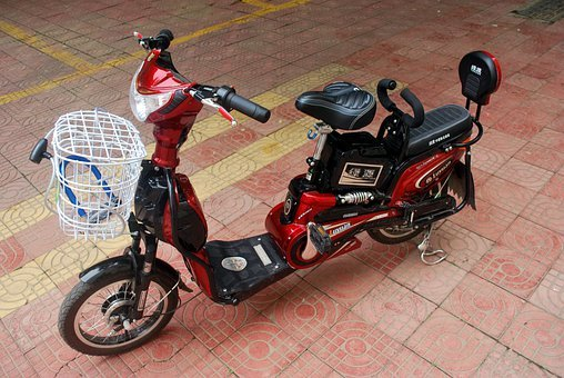 Moped, Bicycle, Electric, Bike, Transportation, Power