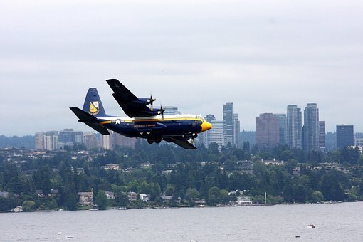 Fat Albert, Airplane, Blue Angles, Aircraft, Bellevue