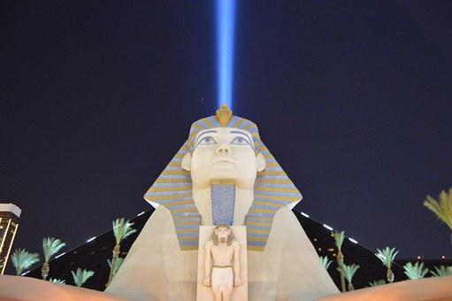 Las Vegas, Luxor, Py, Nevada, Casino, Hotel, Strip