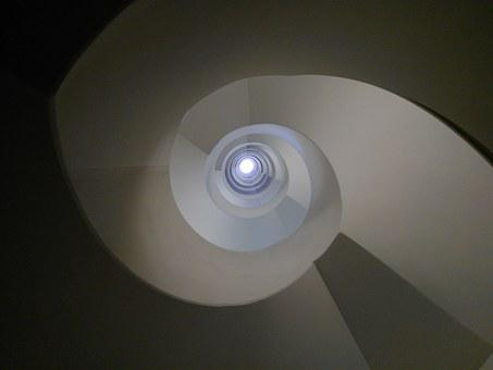 Stairs, Staircase, Architecture, Spiral Staircase
