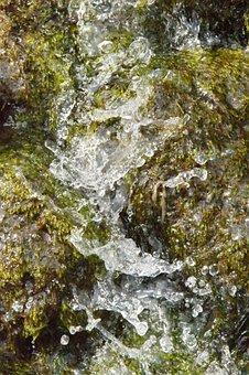 Water, Water Basin, Drip, Drop Of Water, Air Bubbles