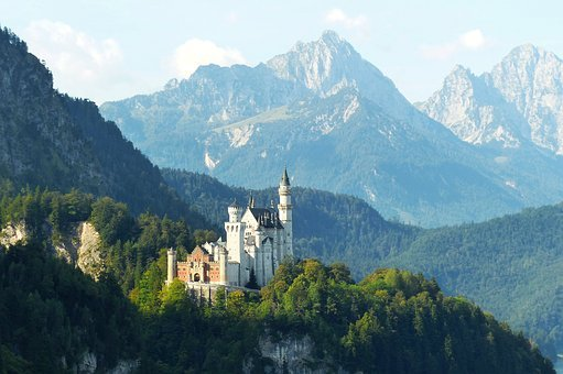 Neuschwanstein Castle, Morning Light, Kristin