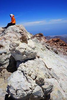 Teide, Summit, Teide Summit, Rest, Break