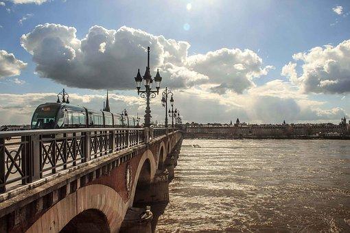 Bordeaux, France, Tourism, History, Gothic, City, Sky