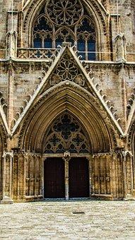 Cyprus, Famagusta, Church, Ayios Nikolaos, Entrance