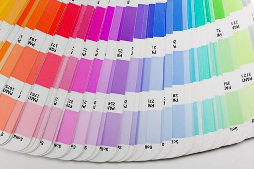 Color Fan, Pantone, Printing Inks, Concentrated