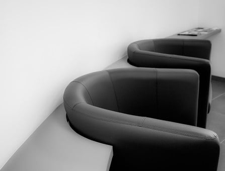 Armchairs, Chairs, Easy Chairs, Black And White
