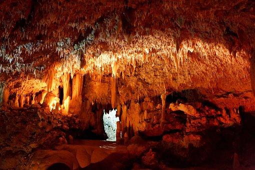 Cave, Cavern, Caving, Dark, Geology, Inside, Limestone