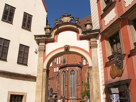 Wrocław, Monument, Gateway, Hansel And Gretel Houses