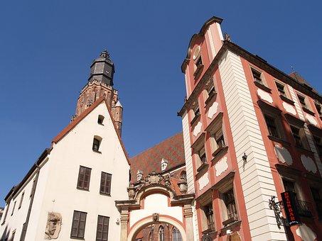 Wrocław, Garrison Church, Hansel And Gretel, Houses