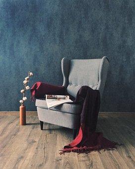 Design, Interior, Upholstered Furniture, Easy