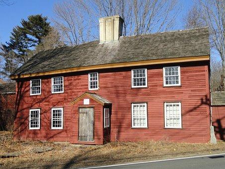 Benjamin, Abbot, House, Andover, Massachusetts