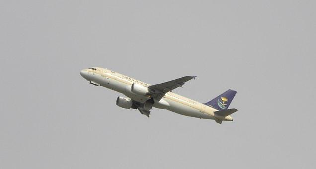 Airport, Aircraft, Take Off, Saudia, Airportist, Plane