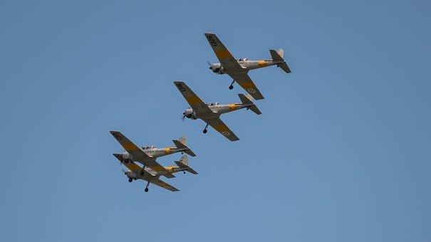 Chimpmunk, Airplane, Aircraft, Avião, Aeronave Fap