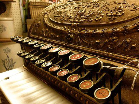 Typewriter, Antique, Old, Letter, Author, Office