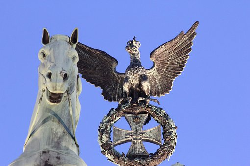 Berlin, Brandenburg Gate, Horse, Landmark, Quadriga