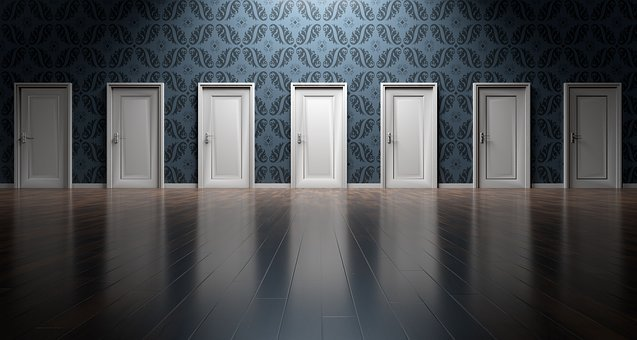 Doors, Choices, Choose, Open, Decision, Opportunity